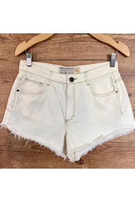short-curto-sarja-off-white