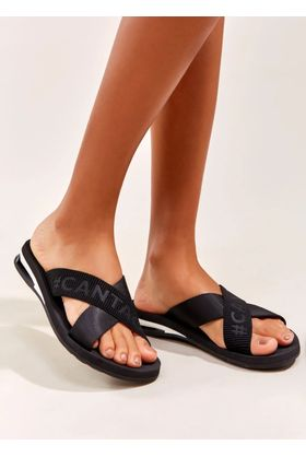 Chinelo Cross Preto