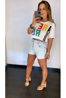 T-shirt-Cropped-Are-Re-Off-White