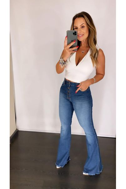 Calca-Jeans-Flare-Botoes