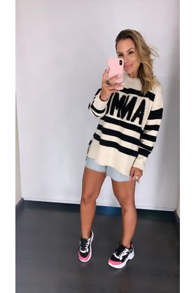 Blusa-Pull-Tricot-Anml-Textura