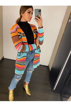 Cardigan-Jacard-Color-Neon