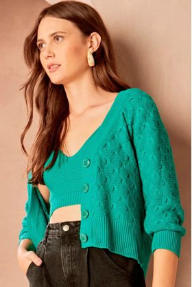 Twin-Set-Tricot-Verde-Virginia