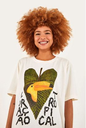 T-shirt-Media-Off-White-Coracao-Tropical