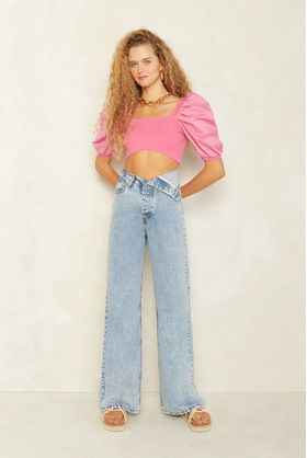 Cropped-Tricot-Rosa-Pink-Angelica
